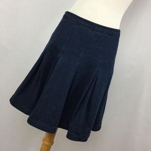 DVF Diane Von Furstenberg Gemma 6 Skirt Indigo